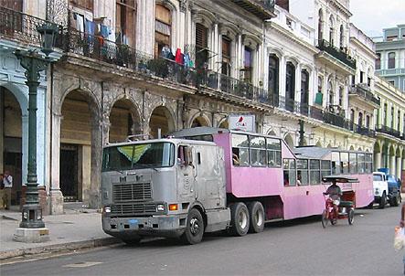 Para solucionar a crise nos transportes, MPL propõe que Natal receba, de Cuba, doação de ônibus rebocados e riquixás